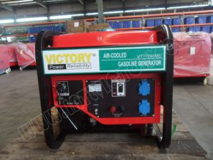 10kVA Twin Cylinder Gasoline Generator avec High Performance