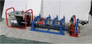 Macchina idraulica del saldatore di estremità della macchina di fusione di estremità vendite dell'HDPE di 2017 della macchina calda del tubo