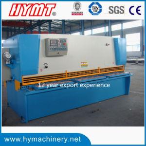 QC11Y-12X2500 hydrauli guilhotina máquina de corte de cisalhamento