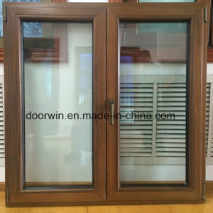 Aluminio estándar americano Casement Windows
