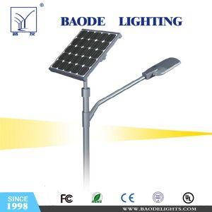 Luz de calle solar del LED con la batería de litio