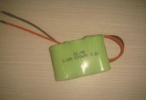 장난감을%s Ni MH 건전지 팩 2/3AA 600mAh 3.6V