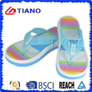 Цветастое Casual Summer Outdoor Beach Slipper для Lady (TNK20043-1)