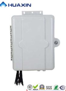 FTTH 32 core insertado de fibra óptica tipo caja de distribución de la caja de bornes