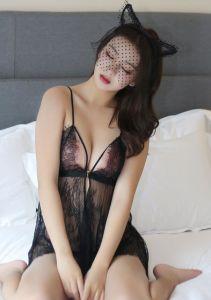 La Dentelle sexy nuisette chaude Lingerie vêtements de nuit des femmes Le sexe