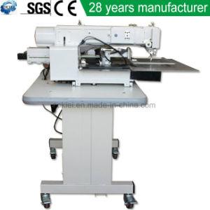 Sapata Moccasin Lockstitch Industrial automática mochila superior de couro de bolsas de máquina de costura
