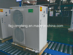 Pompa termica di sorgente di aria per il riscaldamento domestico in