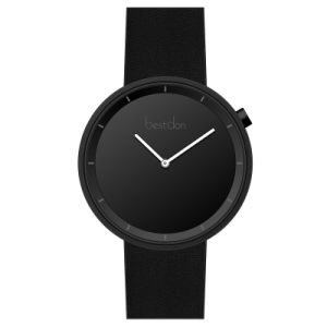 3ATM防水腕時計の最小主義の腕時計のメンズウォッチの革腕時計