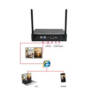 IP66 Full HD 4CH WiFi IR p2p Bullet système de vidéosurveillance sans fil Kit caméra de sécurité