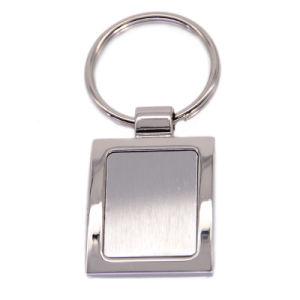 Venda por preço direto em branco Personalizado Chaveiro de Metal
