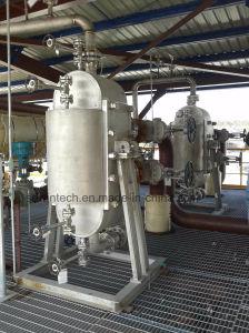 야금술 또는 석유 정제 또는 화학 공업 이용된 반원형 쉘 및 격판덮개 열교환기