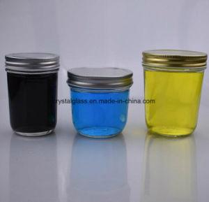 Glasmaurer-Gläser mit Schraubverschluss- Aluminiumkappe