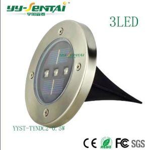 Energy Light LED Lampe LED solaire souterrain pour l'éclairage extérieur