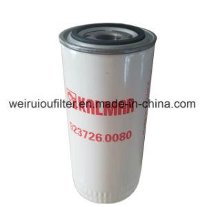 O elemento do filtro de óleo do motor de heap do filtro de Kalmar 923726.0080