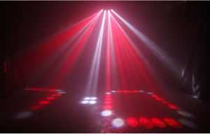Алюминий небо света Fan-Shaped четырех глав государств этапе фонаря направленного света