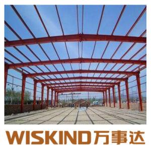 Bienes muebles prefabricados de estructura de acero de edificio industrial para almacén edificio de acero