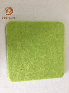 Qualitäts-Polyester-Faser-fehlerfreie Absorptions-dekoratives akustisches Panel