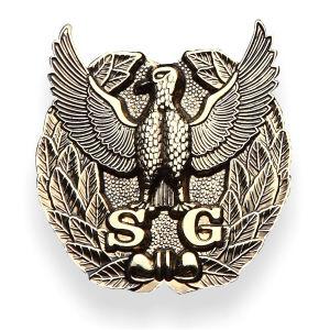 주문 안전 3D 훈장 금 군은 주물 금속 기장을 정지한다