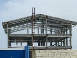 Prefabricados aislados de Ingeniería de Edificación y bastidor de la estructura de acero
