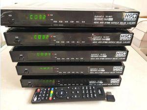 H9+ AVS+ /Dtmb 4Kの人間の特徴をもつサテライトレシーバH265のチューナー