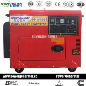 Одна фаза Mobile генератор 4 квт с Air-Cooled двигатель (DG4500)