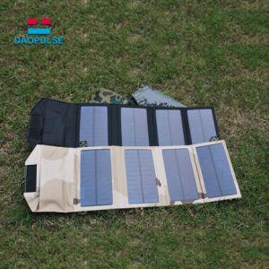 Banco de la energía solar portátil cargador con 4 paneles para Gopro