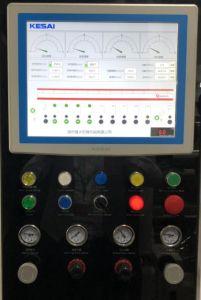 Riga elettronica stampatrice di controllo automatico del servomotore 300m/Min di rotocalco dell'asta cilindrica