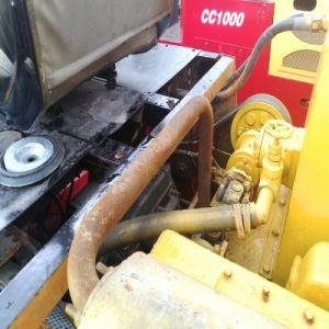 Il doppio usato del rullo di Cc1000 Dynapac tamburella il costipatore della strumentazione del macchinario di costruzione