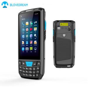 4G androider beweglicher Aktentaschencomputer androides PDA mit Barcode-Scanner