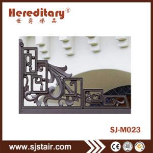 中庭のための屋外の簡単なアルミニウム両開きドアの金属のメインゲート