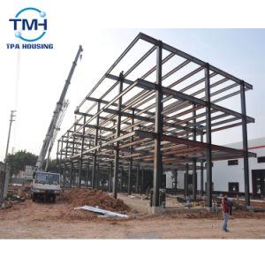 Estructura de acero prefabricados de varios pisos taller para la construcción de almacén