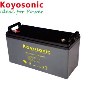 力バンクのための12V 130ahの太陽電池パネル電池の太陽電池