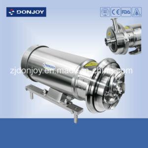 Les mesures sanitaires de la pompe centrifuge avec ouverture de la roue à ailettes