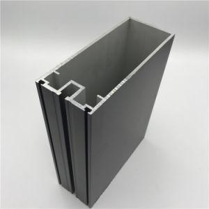 L'argento ha anodizzato il blocco per grafici di portello personalizzato espulsione di alluminio della finestra di alluminio di serie di profilo in differente