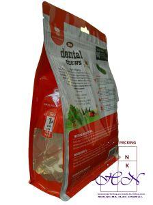 애완 동물 먹이 패킹을%s 비닐 봉투 인쇄 착색하십시오