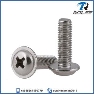 Rondelle en acier inoxydable 304/316 Philips Pan Tête de vis à métaux métriques
