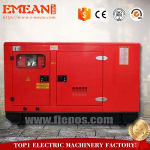 경제력 AC 1/3phases Cannopy 100kw 125kVA 침묵하는 디젤 엔진 발전기 Genset