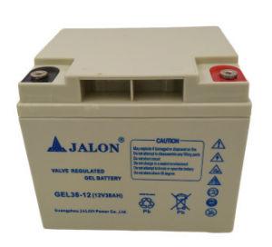 Jalon 12V 38AH долгий срок службы гель глубокую цикла AGM аккумулятор VRLA хранение свинцовых ИБП солнечной батареи