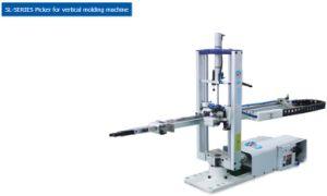 2. La industria brazo robot para máquina de moldeo por inyección vertical SL 650RT.