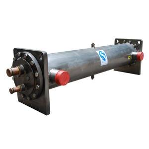 水によって冷却されるシェルおよび管の蒸化器およびコンデンサー