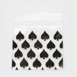 LDPE van het Maïszetmeel van de Rang van het voedsel de Glasheldere Biologisch afbreekbare Plastic Zakken van de Verpakking van de Ritssluiting Plastic met Eigen Embleem