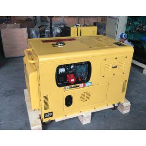 10kVA gerador diesel portátil de refrigeração de ar com motor Kolher