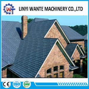 建築材料の石の上塗を施してある金属の鉄片屋根瓦