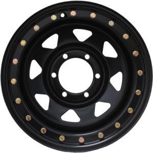 15X10 PCD6-139.7 까만 Offroad 강철 Beadlock 바퀴