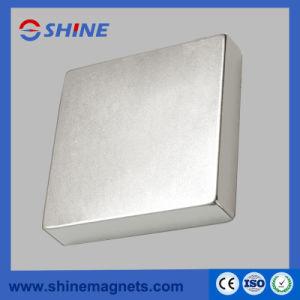 Magnete di rettangolo del neodimio N48 (rivestimento del nichel)
