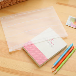 sacchetto libero di plastica dell'archivio del dispositivo di piegatura del documento di foshion (sacchetto dei pp)