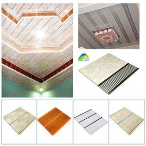 Falso suspende el yeso acústicas decorativas Precio de la junta nueva decoración de exportación de material de Colombia/Chile/México/Bolivia techo Panel PVC