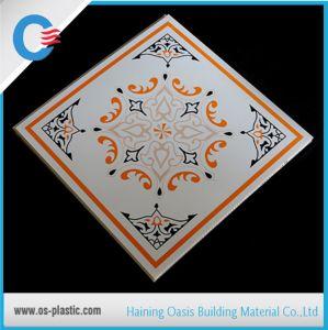 595x595mm en el techo de PVC