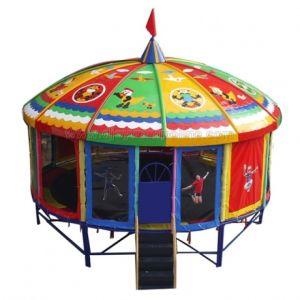 Runde Trampoline für Vergnügungspark (BJ-BU12)