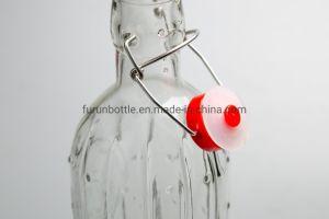 1000ml Fabricant Factory Direct haut de pivotement de gros Prix de vente le flacon en verre1234